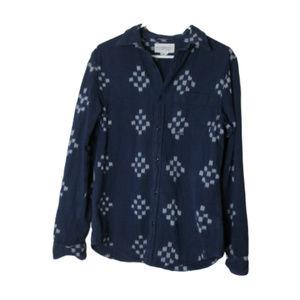 RL Denim & Supply blue southwest button down shirt